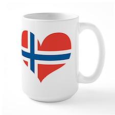 norway's heart Mug