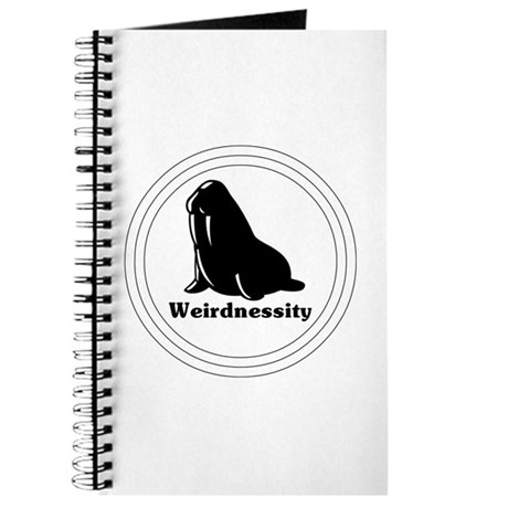 Weirdnessity Logo Journal