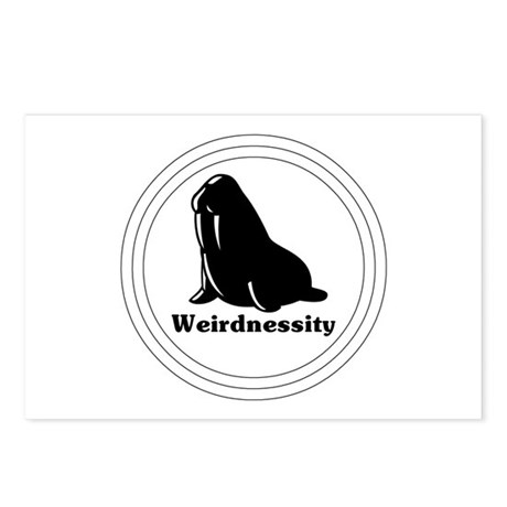 Weirdnessity Logo Postcards (Package of 8)