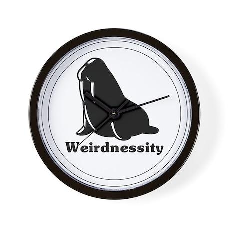 Weirdnessity Logo Wall Clock