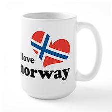 i love norway Mug