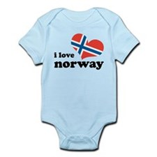 i love norway Infant Bodysuit
