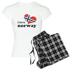 i love norway Pajamas