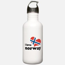 i love norway Water Bottle