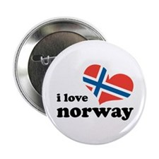 """i love norway 2.25"""" Button"""