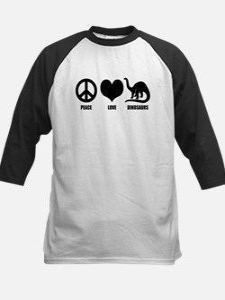 Peace Love Dinosaurs Tee
