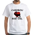 Caribou Love Big Oil White T-Shirt