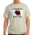 Caribou Love Big Oil Ash Grey T-Shirt