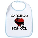 Caribou Love Big Oil Bib