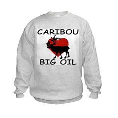 Caribou Love Big Oil Sweatshirt