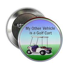"""Golf cart 2.25"""" Button (10 pack)"""