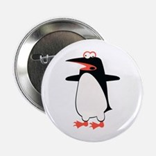 """Loony Penguin 2 2.25"""" Button"""