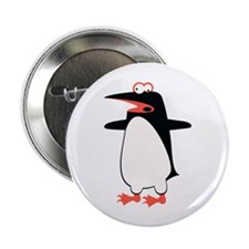 """Loony Penguin 2 2.25"""" Button (100 pack)"""