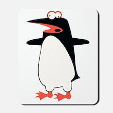 Loony Penguin 2 Mousepad