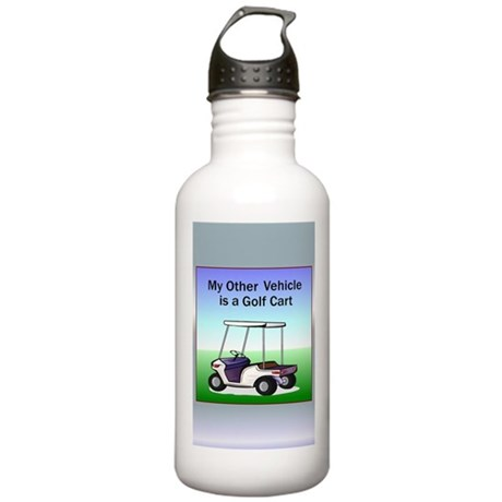 Golf cart Stainless Water Bottle 1.0L