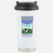 Golf cart Stainless Steel Travel Mug