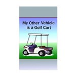 Golf cart Sticker (Rectangle 10 pk)