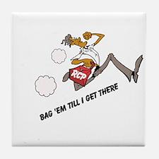 Bag 'em Tile Coaster
