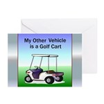 Golf cart Greeting Cards (Pk of 20)