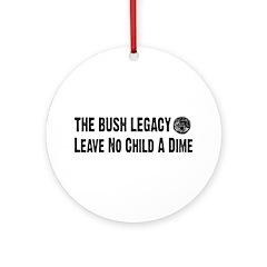 Bush Legacy Ornament (Round)