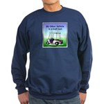 Golf cart Sweatshirt (dark)