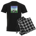 Golf cart Men's Dark Pajamas