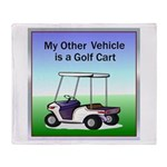 Golf cart Throw Blanket