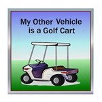 Golf cart Tile Coaster