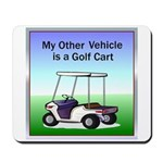 Golf cart Mousepad