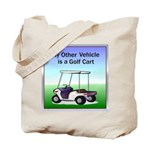 Golf cart Tote Bag