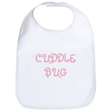 Cuddle Bug (pink) Bib