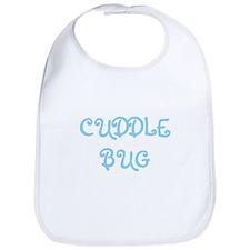 Cuddle Bug (blue) Bib