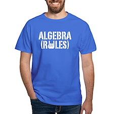 Algebra Rules T-Shirt