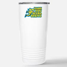 Damn You Scuba Steve Travel Mug