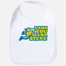 Damn You Scuba Steve Bib