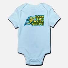 Damn You Scuba Steve Infant Bodysuit