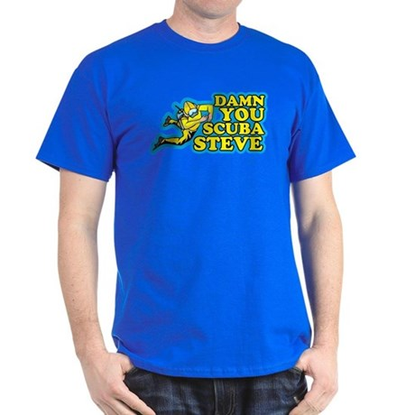 Damn You Scuba Steve Dark T-Shirt
