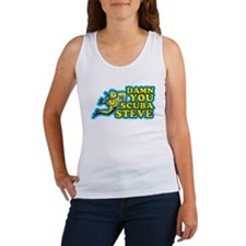 Damn You Scuba Steve Women's Tank Top