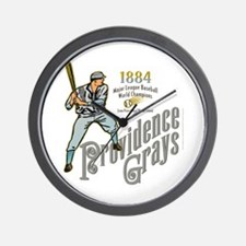Providence Grays Wall Clock