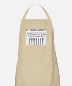 Foreign Policy BBQ Apron