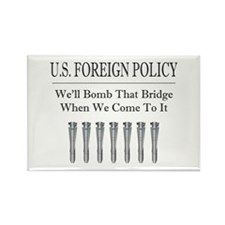 Foreign Policy Rectangle Magnet