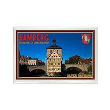Bamberg Altes Rathaus L Rectangle Magnet