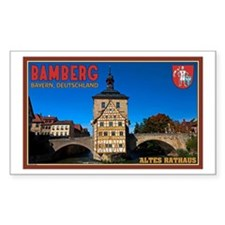 Bamberg Altes Rathaus L Decal