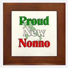 Proud New Nonno Framed Tile