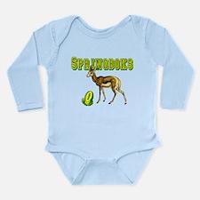 Springboks Rugby Long Sleeve Infant Bodysuit