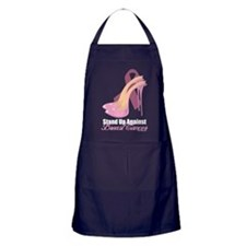 Stand Up Against Breast Cance Apron (dark)