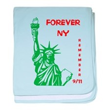 REMEMBER 9/11 baby blanket