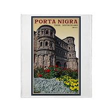 Trier Porta Nigra Throw Blanket
