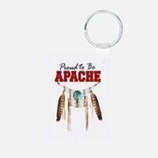 Proud to be Apache Keychains