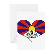 tibet's heart Greeting Cards (Pk of 10)